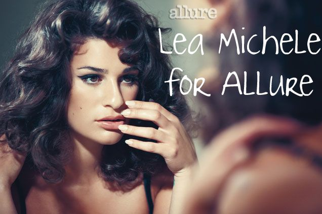Lea michele for allure magazine the democracy diva - Lea michele diva ...