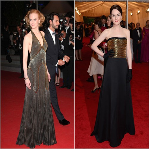 Nicole and Michelle's gowns by Ralph Lauren