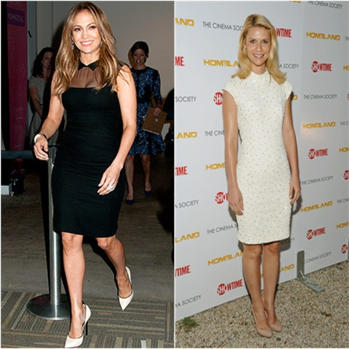 Jennifer Lopez and Claire Danes in L'Wren Scott