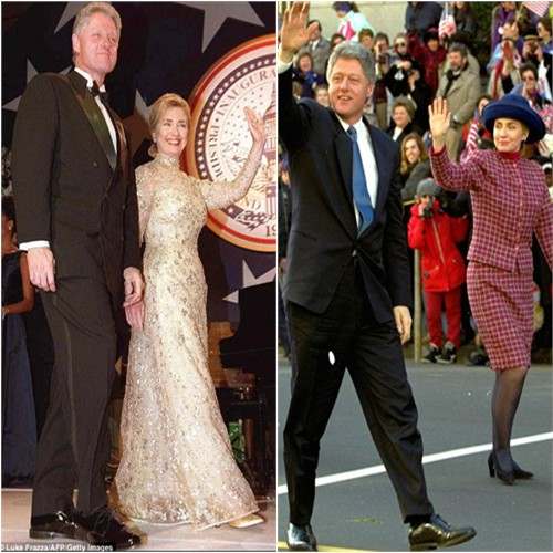 Hillary Clinton in Oscar de la Renta