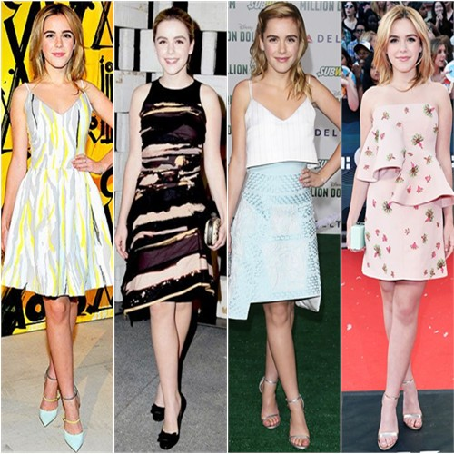 Kiernan Shipka in Preen, Bottega Veneta, Peter Pilotto, and Marni