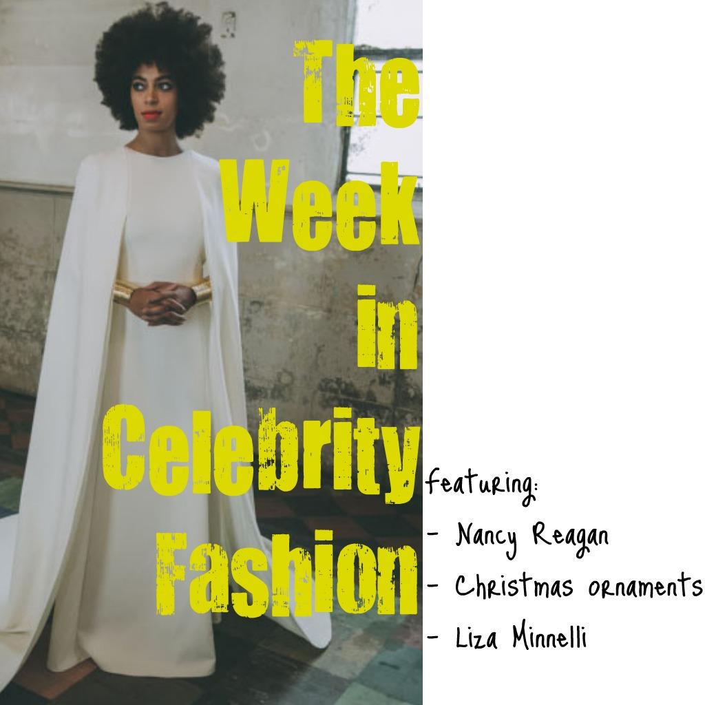 The Week in Celebrity Fashion