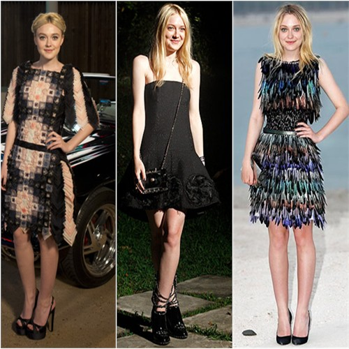 Dakota Fanning in Chanel