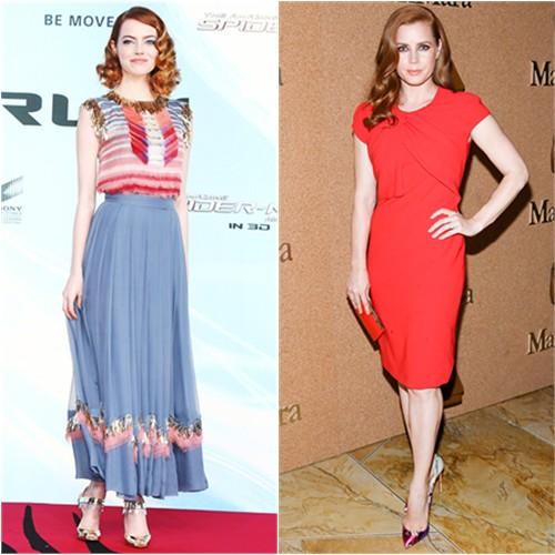 Emma in Chanel; Amy in MaxMara