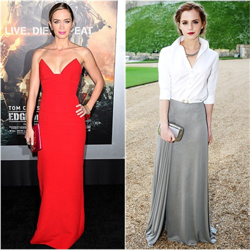 Emily in Prada; Emma in Ralph Lauren