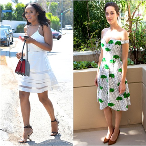 Kerry in Parker; Marion in Chalayan