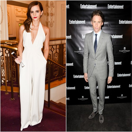 Emma in Misha Nonoo; Eddie in McQueen