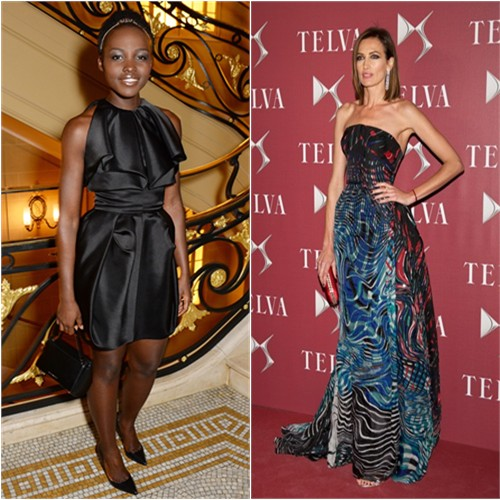 Lupita in Fitriani; Nieves in Zuhair Murad