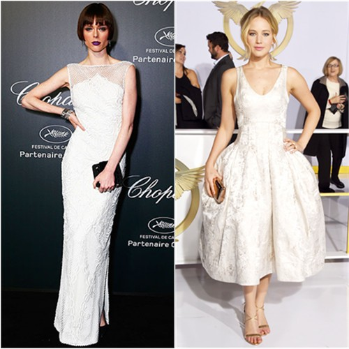 Coco in Gabriela Cadena; Jennifer in Dior