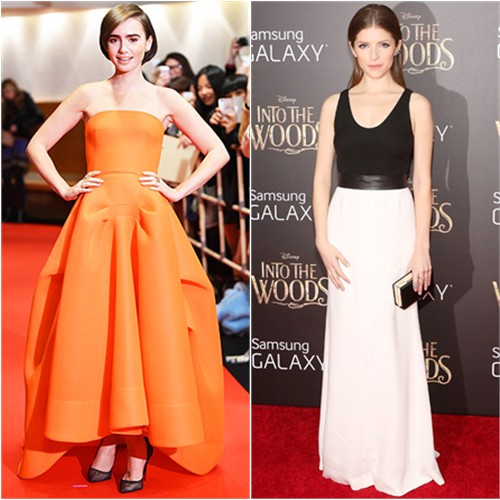 Lily in Maticevski; Anna in Narciso Rodriguez