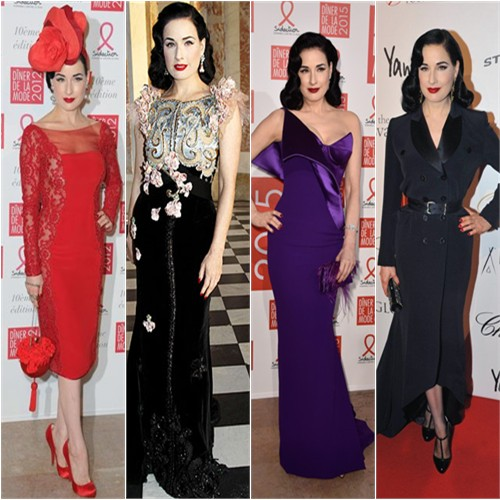 Dita in Alexis Mabille