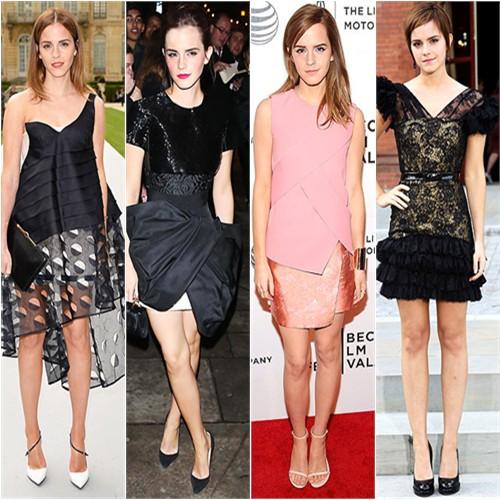Emma Watson in Dior, Giambattista Valli, Narciso Rodriguez, & Rafael Lopez