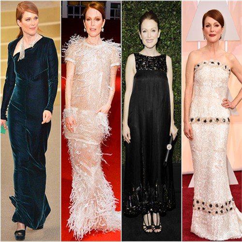 Julianne in Chanel