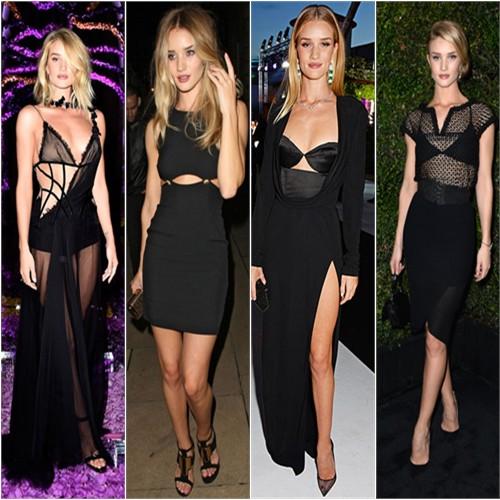 Rosie in Versace, Versus, Cushnie et Ochs, & Chanel
