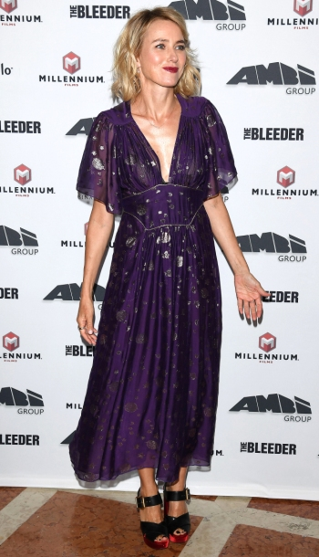 AMBI Exclusive Dinner in honor of The Bleeder starring Naomi Watts and Liev Schreiber